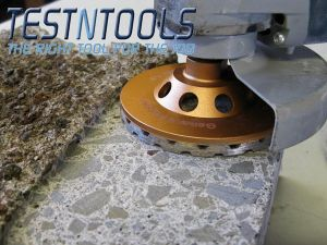 Desic Diamond Turbo Concrete Grinding Cup 100mm