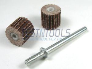 Desic Flapwheel 10mm 320 Grit 2 Pieces And Mandrel