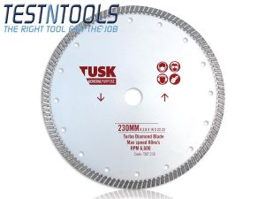 Tusk Diamond Blade General Purpose Turbo 230mm TGP230