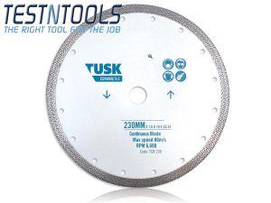 Tusk Diamond Blade Continuous Tile 200mm Big Bore TCB200BB