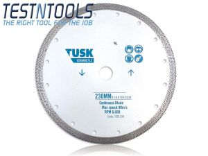 Tusk Diamond Blade Continuous Tile 230mm TCB230