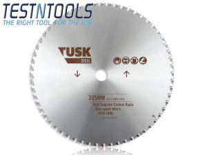 Tusk Tungsten Carbide Blade for Steel 305mm TSCB305