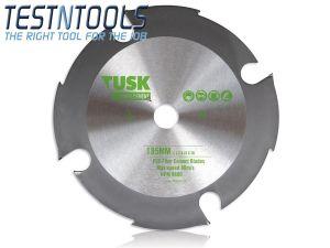 Tusk PCD Diamond Blade for Fibre Cement 160mm TPFC160