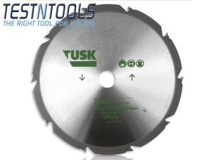 Tusk Tungsten Carbide Blade for Scrub Cutting 225mm TSTC225