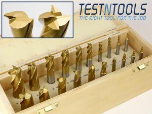 Desic End Mill Set 20 Piece Metric 3-20mm