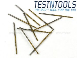 Desic TiN Coated Twist Drills 10 Pack 1.0mm