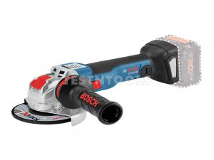 Bosch 18V Brushless Angle Grinder 125mm Tool Only GWX18V-10C 06017B0200