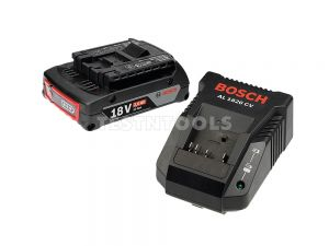 Bosch Blue 18V 2.0Ah Battery and Charger Starter Package 0615990K0J
