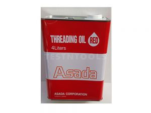 Asada Threading Oil 4 Litre Red