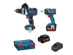 Bosch 18V 2pc 6.0Ah Brushless Combo Kit DBW2-PEC 0615990K07