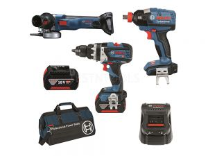 Bosch 18V 3pc 5.0Ah Brushless Combo Kit DB3-XG EC 0615990J9M