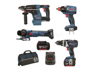 Bosch 18V 4pc 5.0Ah Brushless Combo Kit DB4-XGH EC 0615990J9K