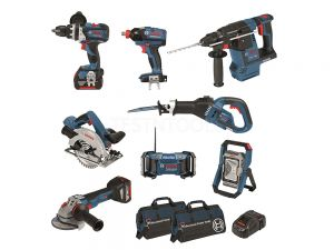 Bosch 18V 8pc 5.0Ah Brushless Combo Kit DB8-XGS EC 0615990J9H