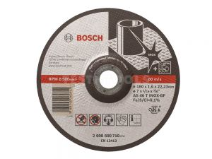 Bosch Metal Cut Off Disc Inox 115 x 1 x 22.2mm 10 pack 2608603467