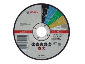 Bosch Multi Material Cut Off Disc 115 x 1 x 22.2mm 10 Pack 2608603044
