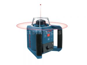 Bosch Rotating Laser GRL300HV with Tripod BT170HD and Cut and Fill Rod GR240 F005XK0246