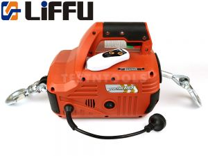 Liffu Portable Electric Hoist 230V With Remote 8m 250Kg ATQ-04