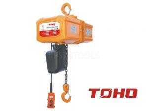Toho Electric Chain Hoist 230V 6m 1 Ton TECH0106