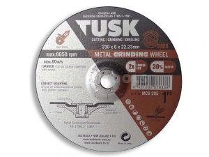 Tusk Metal Grinding Wheel 230mm MCO205