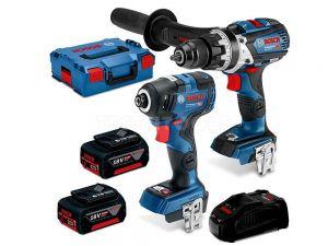 Bosch 18V 2pc 5.0Ah Brushless Heavy Duty Combo Kit 0615990L5F