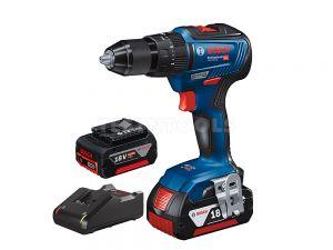 Bosch 18V 4.0Ah Brushless Hammer Drill Kit GSB18V-55 0615990J4J