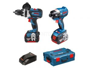 Bosch 18V 2pc 4.0Ah Brushless Combo Kit BBR2-PEC 0615990J6R