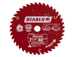 Diablo Fine Finish Circular Saw Blade 184mm 40T 2608644454