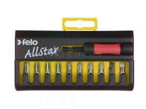 Felo 020 Series Screwdriver Bit Set 11 Pack SCR-AS020S12