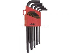 "Felo Ballpoint Hex Wrench Set 0.05 - 3/8"" 13 Pack WREH-BLX13"