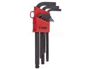 Felo Ballpoint Hex Wrench Set 1.5-10mm 9 Pack WREH-BLX9