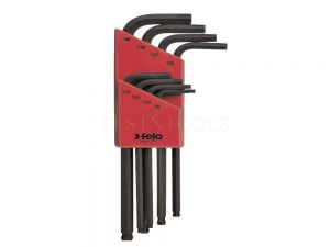 Felo Ballpoint  Hex Wrench Set T9-T40 8 Pack WREH-LTX8