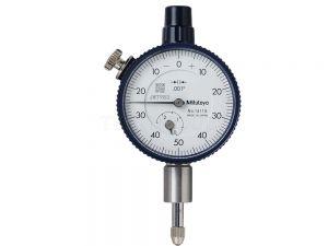 Mitutoyo Dial Indicator Flat Back 0.25 0.001 Series 1 Dial 0-50-0 1411SB