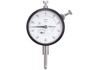 Mitutoyo Dial Indicator Lug Back 1 0.001 Series 2 Dial 0-100 2416S