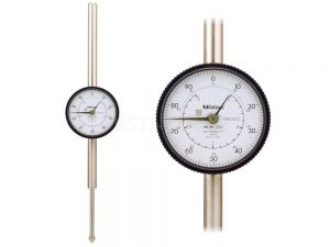 Mitutoyo Dial Indicator Lug Back 2 0.001 Series 2 Dial 0-100 2424S-19