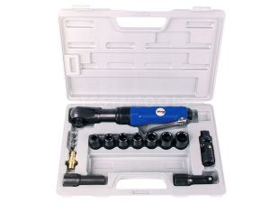 "RokitAir Air Ratchet Wrench Kit 1/2"" 17 Piece Kit WRER-T4002"