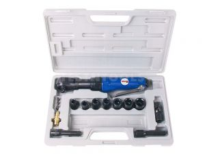 """RokitAir Air Ratchet Wrench Kit 3/8"""" 17 Piece WRER-T4001"""
