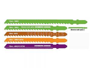 Tusk Jigsaw Blade for Fibercement 100mm 6TPI 2 Piece TJB107