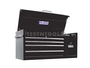 Wayco Tool Chest Cabinet 4 Drawer Black TOCC-W1774AB