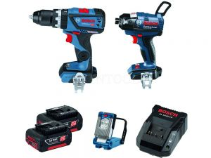 Bosch 18V 3pc 3.0Ah Brushless Combo Kit SBX2-CEC 0615990J6N