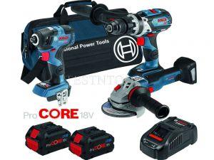 Bosch 18V 3pc 8.0Ah ProCORE Combo Kit DB3-BXS 0615990L27