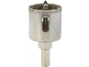 Desic Diamond Coated Holesaw with Pilot Glass And Tiles 35mm