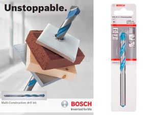 Bosch Multiconstruction Drill Bit 8mm x 120mm 2608596055