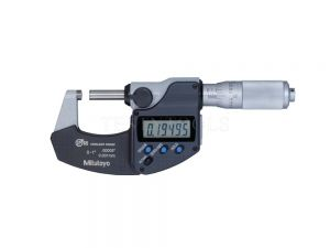 "Mitutoyo Digimatic Micrometer 0-25mm 0-1"" 0.001mm 0.00005"" IP65 Without SPC Data Output 293-340-30"
