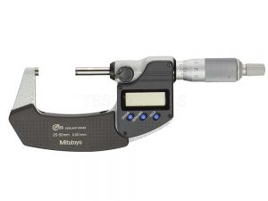 Mitutoyo Digimatic Micrometer 25-50mm 0.001mm IP65 Without SPC Data Output 293-241-30