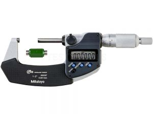 "Mitutoyo Digimatic Micrometer 25-50mm 1-2"" 0.001mm 0.00005"" IP65 With SPC Data Output 293-331-30"