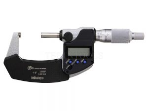 "Mitutoyo Digimatic Micrometer 25-50mm 1-2"" 0.001mm 0.00005"" IP65 Without SPC Data Output 293-341-30"