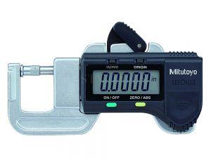 "Mitutoyo Digital Micrometers Quick Mini 0-12.7mm 0-0.5"" 0.01mm 0.0005"" 700-118-20"