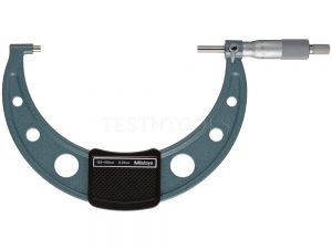 Mitutoyo Outside Micrometer 125-150mm 0.01mm With Ratchet Stop 103-142-10