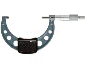 Mitutoyo Outside Micrometer 75-100mm 0.01mm With Ratchet Stop 103-140-10