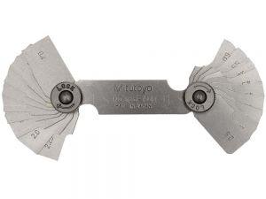 Mitutoyo Radius Gauge 0.4-6mm 186-110